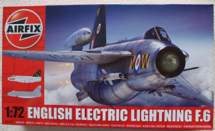 Airfix 1/72 05042 English Electric Lightning F.6